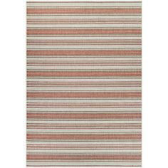 Beachcrest Home Wexford Marbella Coral & Ivory Indoor/Outdoor Area Rug Rug Size: