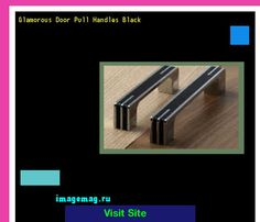 Glamorous Door Pull Handles Black 092103 - The Best Image Search