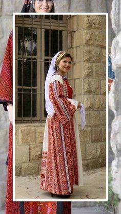 Traditional Fashion, Traditional Dresses, Palestine History, Arabian Women, Palestinian Embroidery, Textiles, Bridal Dresses, Cute Outfits, Womens Fashion