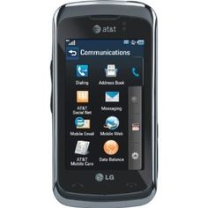 LG GT550 Encore Unlocked Phone with 3MP Camera, GPS, 3G Support and Touch Screen - US Warranty - Black - The LG Encore weighs 3.7 ounces and measures 4.17 x 2.10 x 0.47 inches. Its 950 mAh lithium-ion battery is rated at up to 3 hours of talk time, and up to 240 hours (10 days) of standby time. It runs on the 850/900/1800/1900 MHz GSM/GPRS/EDGE frequencies as well as AT's dual-band 3G network (850/1900 MHz; HSDPA/UMTS). - http://groovycellphone...