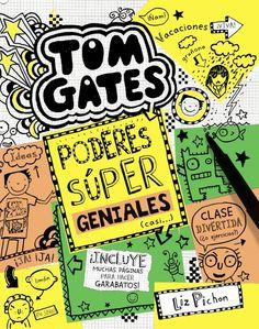 """«Ola, chámome Tom  Gates e este libro está repleto de  cosillas extra para que te entreteñas se (como eu) tes unhas vacacións  regulín. Ollo ao dato! As notas adhesivas son ideais para facer: garabatos, cinema libros e mensaxes para pegarlle nas costas a  Marcus. ( JA!  JA!). Por exemplo, esta é para a miña irmá: """"Ola, son Delia e non sorrío nin aínda que me maten"""". Que o goces!»"""