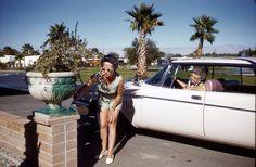 Doisneau. Les bigoudis du peintre, Palm Springs 1960