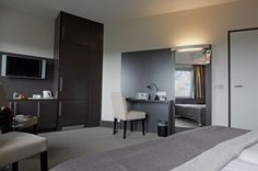 Een comfortkamer in het Hampshire Hotel - Groningen Plaza.