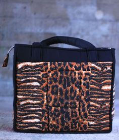 A strong handmade bag meant for mothers to keep baby things on the go.  Great design and fabric