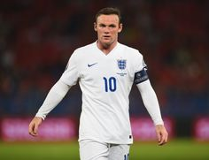Wayne Rooney of England looks on during the UEFA EURO 2016 Qualifier match between Switzerland and England on September 8, 2014 in Basel, Switzerland.