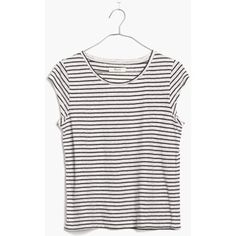 MADEWELL Marquee Tee in Stripe