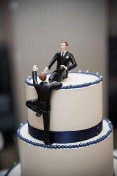 Gay Marriage - Super cute cake topper