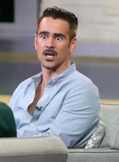 Colin Farrell Photos: Celebrities Visit 'Good Morning America'