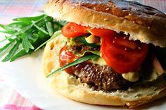 Jaden's Korean BBQ-Style Burgers  The best hamburger seasoning recipe with a little Asian flair