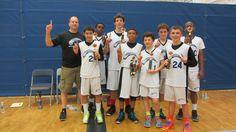 The Winter Garden-based Triple Double Basketball Academy Heat won first place in the middle school/freshman division for its spring season. Congratulations to the team members for an undefeated season and winning first place in the championship game.