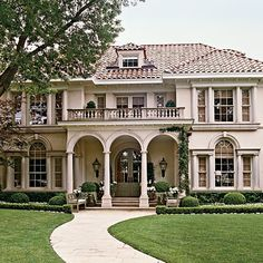 european-villa style home. beautiful.