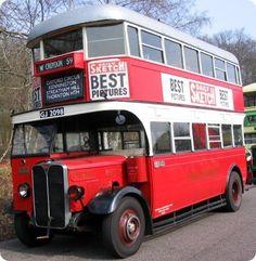 London Transport 1930 AEC Regent 1 Tilling or Dodson Beetles Volkswagen, Volkswagen Bus, Vw Camper, Road Transport, London Transport, Public Transport, Vintage London, Old London, Richard Branson