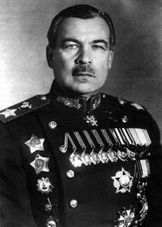 SOVIET military commander, Marshal of the Soviet Union, Hero of the Soviet Union Leonid Govorov