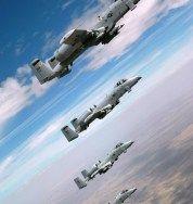 """A"" de ataque: Fairchild Republic A-10 Thunderbolt II (Warthog)"