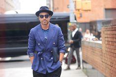 Relaxed Cool. Alex Badia WWD Fashion Editor & M Magazine...