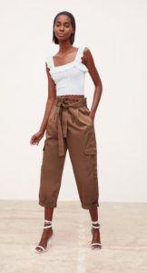 087f0b670da0 Παντελόνια  Σορτσάκια Νέα γυναικεία collection Zara Άνοιξη-Καλοκαίρι 2019!