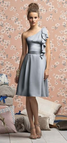 """The most important consideration when choosing bridesmaid's dresses is to select something that will look gorgeous on each girl and elegant enough that they can wear it again.  This Lela Rose from Weddingtonway.com manages to marry """"high fashion"""" with """"timeless"""" design!"""