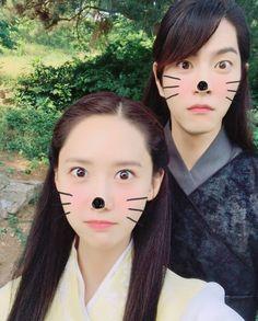 "Yoona - The King In Love 왕은사랑한다 (@thekinginlove.mbc) trên Instagram: ""RinSan 😍❤ . #TheKingInLove #왕은사랑한다 #imyoona #limyoona #yoona #임윤아 #eunsan #yimsiwan #imsiwan #임시완…"" Yoona Drama, Hong Jong Hyun, Snsd, Girls Generation, My Idol, Kdrama, Natural Beauty, King, Anime"