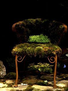 moss chair