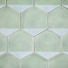 The Design Edit: 10 Gorgeous Room-Transforming Tiles - These Casa hexagonal tiles by Marrakech Design can be arranged in a variety of ways. Hexagon Tiles, Hexagon Shape, Mosaic Tiles, Cement Tiles, Tiling, Honeycomb Tile, Hex Tile, Grey Tiles, Subway Tile