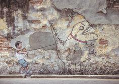 STREET ARTIST ERNEST ZACHAREVIC || NationalTraveller.com