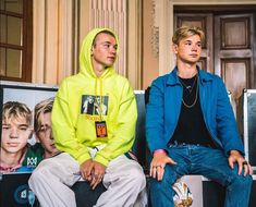 Marcus and Martinus Twin Boys, My Boys, Love Twins, Celebrity Singers, Great Friends, Talking To You, Boy Bands, My Friend, Rain Jacket