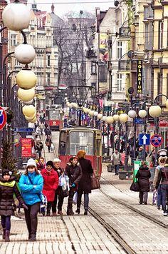 Wolności Street, Chorzów, Poland