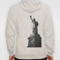 #Society6 #art #decor #Hoodies The Statue Of Liberty #Society6...