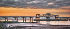 https://flic.kr/p/crXnnS | Kincardine Bridge at Daybreak | View of Kincardine Bridge on the Forth Estuary in Scotland at sunrise
