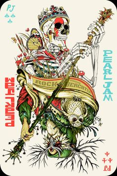 Its the joker card, a skeleton king sprouting with new life, including a butterfly. Follow me for more awesome