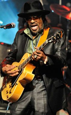 "Chuck Brown you are not from DC if you don't know Chuck....Musical Impact of Chuck Brown (August 22, 1936 – May 16, 2012) : Known for songs like ""Bustin' Loose, Run Joe & Chuck Baby"""