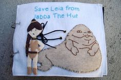Get your nerd on and DIY your own Star Wars-themed quiet book | Offbeat Families