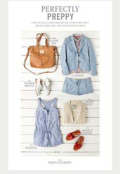 Preppy style ! Oh yeahh