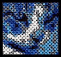 Hama Beads: Gino cat by anboro