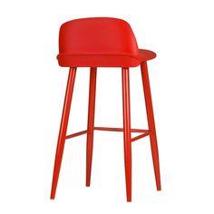 Interior: Beautiful Red Bar Stools With Arms from The Use Of Red bar Stools