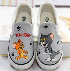 a06315a981 74 Best Cartoon Characters Hand Painted Shoe Ideas images