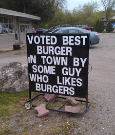 Best Burger In Town! Hurry!