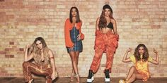 Little Mix now have as many platinum tracks as the iconic girl group the Spice Girls after their newest single 'Reggaetón Lento' with the Latin American group CNCO went platinum Perrie Edwards, Little Mix 2017, Little Mix Outfits, Jesy Nelson, Little Mix Photoshoot, Little Mix Glory Days, Little Mix Lyrics, Jade Amelia Thirlwall, Litte Mix