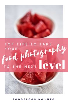 If you've mastered the basics of food photography, then it's time for some tips to take it to the next level. #blog #foodblog #growyourblog #growfoodblog #foodbloggingcollective