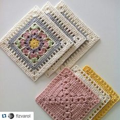 with ・・・ 🍃💖🍃 Yeni bir ay yeni hafta ama bitmeyen iş😔 Hoşgeldin Şubat This Pin was discovered by Hul Ver esta foto do Ins Discover thousands of images about Granny squares patterns Workspace Webmail :: Mail Index :: Inbox Motifs Granny Square, Crochet Motifs, Granny Square Crochet Pattern, Crochet Stitches Patterns, Crochet Squares, Granny Squares, Crochet Diy, Crochet Quilt, Crochet Blocks