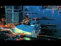 NYC Aerial Staten Island Ferry Hub
