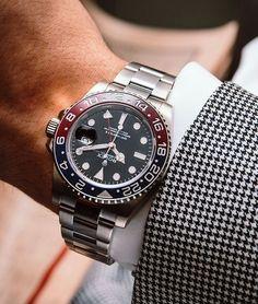 Rolex Oyster Professional GMT-Master II Mens Watch 116719BLRO @majordor.com | www.majordor.com