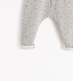 ZARA - KIDS - PRINTED  LEGGINGS WITH LINING