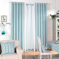9 Stunning and Stylish Striped Curtains For Home - Ourl Fly