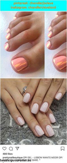 LOVE this peach gel with mermaid glitter combination🙌🏾🍑🧜🏼♀… LOVE this peach gel with mermaid glitter combination🙌🏾🍑🧜🏼♀️✨ Gel Toes, Mermaid Glitter, Used Iphone, Gel Polish, Peach, Nail Art, Nails, Blog, Instagram