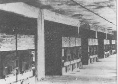 The furnaces of Krema II in Auschwitz.