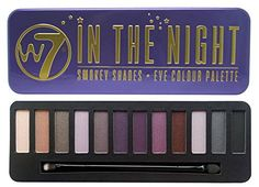 W7 Natural Nudes Naked Eye Colour Palette New (W7 In The Night- Smokey Eyes)