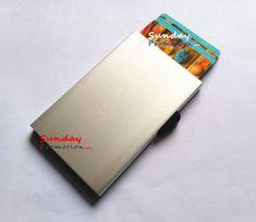 Wholesale RFID Blocking Aluminium Wallet Credit Card Holder 20. Wholesale at www.sundaypromotion.com