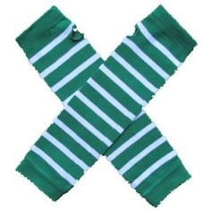 (AW) Team Green & White - My School Spirit Stripes Infant Baby Child Toddler Little Girl or Boy Arm Warmers by Sydney So Sweet by Sydney So Sweet. $6.98. Reinforced thumb keeps them in place.. One size fits most, infant to child.. Wear under short sleeve shirts for an extra layer.. Not just for arms. Try them as leg warmers too!. Perfect to show off your school spirit!. Measure approximately 12-13 inches long, 3-4 inches wide. 80% cotton, 18% polyester, 2% spandex. Machi...