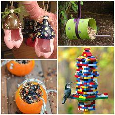 bird feeders for kids